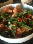 Panzanellaish salad.
